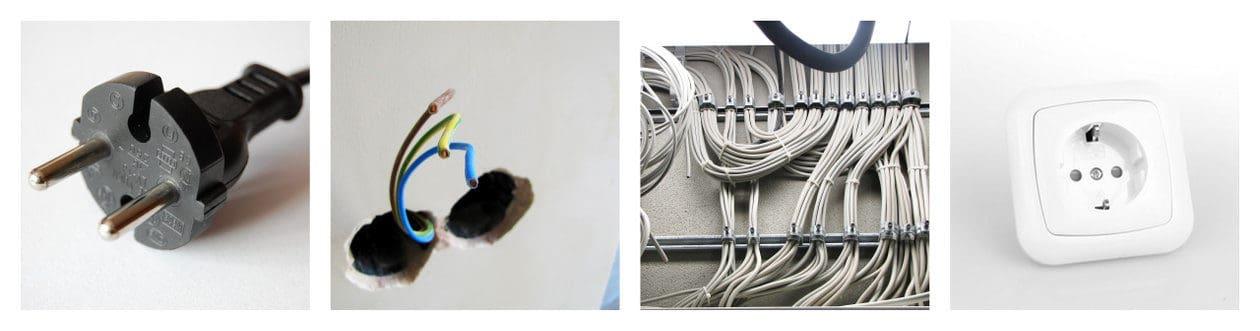 elektrik in kooperation mit qualifizierten betrieben. Black Bedroom Furniture Sets. Home Design Ideas
